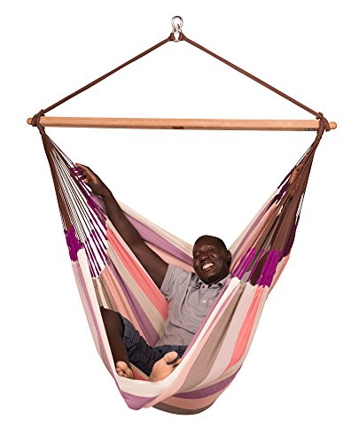 LA SIESTA – Domingo Plum – Hängestuhl Lounger Outdoor - 2