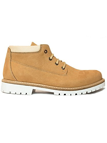 Will's Vegan Shoes Ankle dock boots tan-UK 7/EU 41/US 8