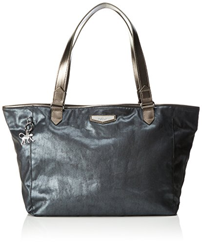 Kipling Damen Lots Of Bag Henkeltasche, Grau (Wow Print), 52x28x18 cm