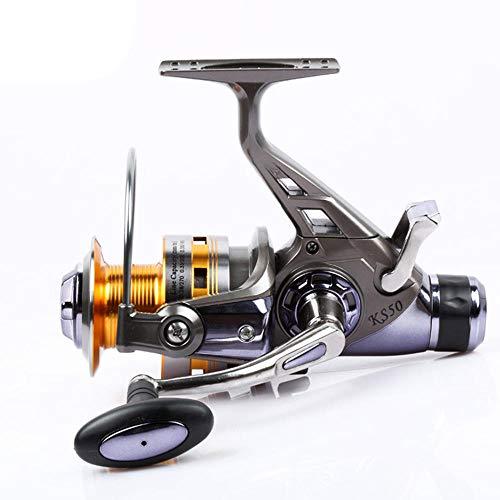 Karpfenangeln Schwenkrad Metallkopf 3000-8000 Doppel-Langstreckenentladung Seefischrad Tintenfischradrolle-5000 Series