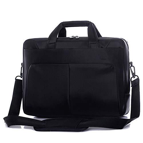 Stoßfeste Computertasche, Programmierer-Computertasche, 15,6-Zoll-Universal-Business-Schultertasche, tragbare Aktentasche, Doppelschicht können zwei Laptops, verdickte Anti-Vibrations-Airbag-Kuriertas