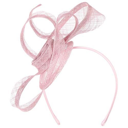Seeberger Matera Sinamay Fascinator Haarschmuck Anlasshut Damenhut (One Size - rosa)