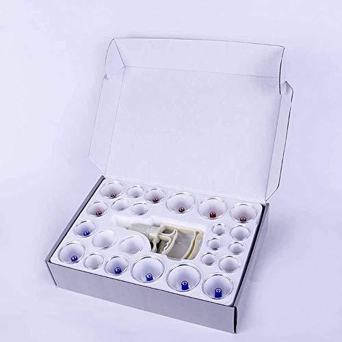 24 Tassen Chinesischen Vakuum Schröpfen Gesunden Körper Attraktion Therapie Massage-Set