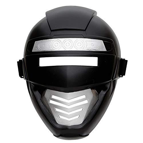 Widmann 04862 Power Roboter Maske für Kinder, One Size