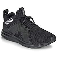 PUMA Kids Boys Enzo Weave Junior Trainers Runners Lace Up