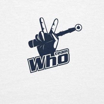 Planet Nerd Team Who - Damen T-Shirt Weiß