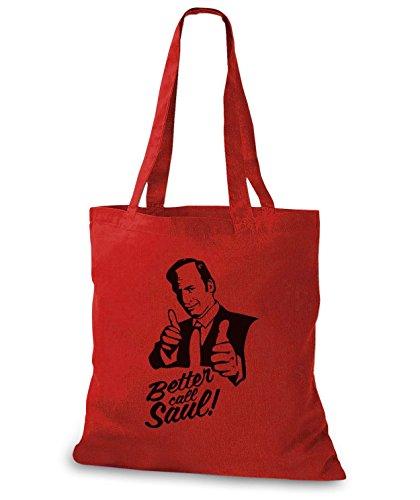 StyloBags Jutebeutel / Tasche Better Call Saul v2 Natur
