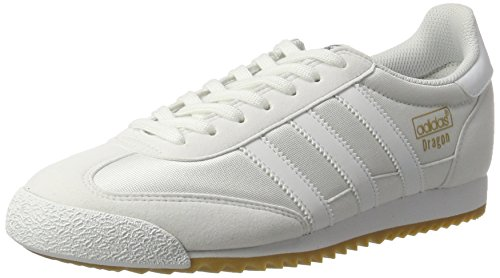 online store 35534 12ec1 adidas Dragon Og, Sneaker Bas du Cou Homme, Blanc (Ftwr White ftwr