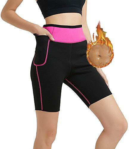 HuntDream Damen Neoprenanzug Shorts Hosen 2mm Neopren Shorts, warm halten für das Tauchen Snokeling Surfen Scuba Pants mit Tasche