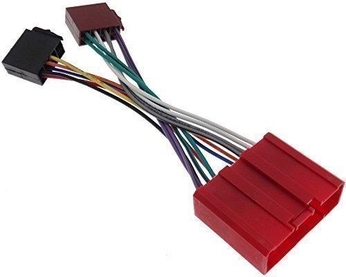 MAZDA (2) Radioadapter Radio Adapter Stecker Kabel ISO Kabelbaum Anschlusskabel