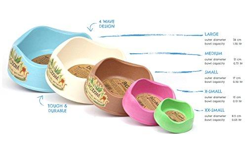 Beco-Bowl-Eco-Friendly-Bamboo-Food-and-Water-Bowl-M-Natural