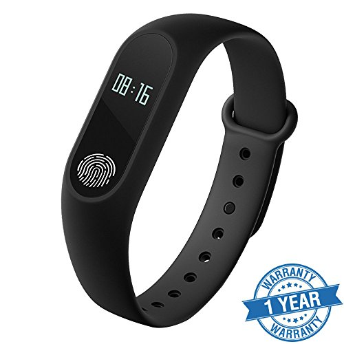 Captcha Captcha M2 Smart Fitness Band With Heart Rate Sensor/Pedometer/Sleep...