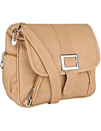 Brown Women Sling Bag