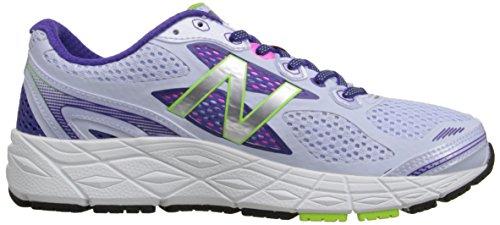New Balance Women's W840V3 Running Shoe Light Grey/Purple