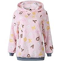 Hanomes Damen pullover, Damen Kapuzenpullover Winter Warm Zipper Pocket Pullover Bluse Shirts preisvergleich bei billige-tabletten.eu
