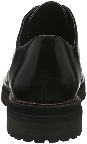 Aldo Daring, Scarpe Stringate Basse Oxford Donna Nero (Black Synthetic/96)