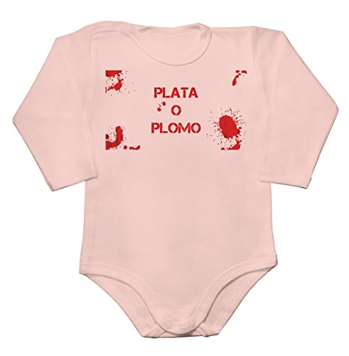 bloody-plata-o-plomo-artwork-baby-long-sleeve-romper-bodysuit-small