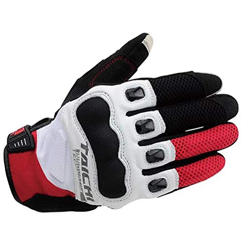 n Motorrad Handschuhe Vollfinger Ritter Motorrad Handschuhe Sommer Mesh Motocross Handschuhe Racing Guantes Moto Größe SML XL ()