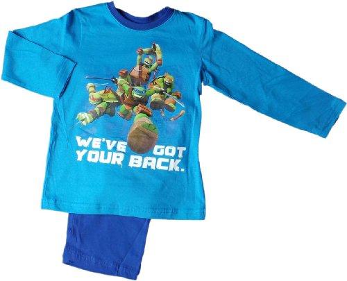 Teenage Mutant Ninja Turtles Schlafanzug -We have got your back - Blau/Mehrfarbig