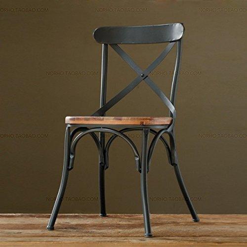 Vintage sillas de comedor de hierro forjado antiguos sillas bar salón silla,bronce