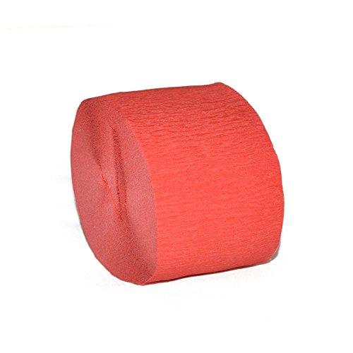 smartrich 1Krepppapier Streamer Papier DIY Kunsthandwerk Hochzeit Party Supplies Dekoration (4,5x), Rot, 4,5 cm