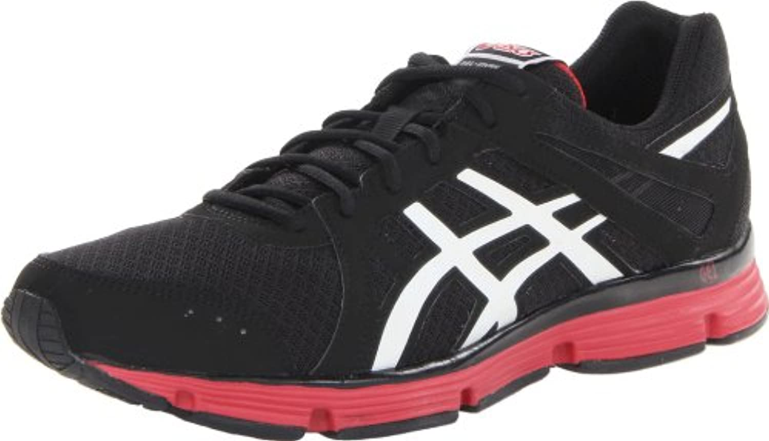 Asics 2013 Men's Gel Invasion Running Shoe   T3A0N Black/White/Red   13