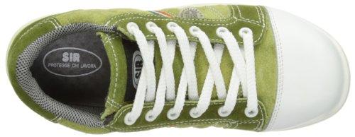 Sir Safety Fobia Leather, Chaussures de sécurité femme Vert - vert