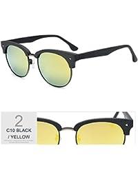 TIANLIANG04 Madera Aviador Gafas De Sol Polarizadas Retro Unisex En Metal  Mujer Barniz Uv400 6ace67c45c23