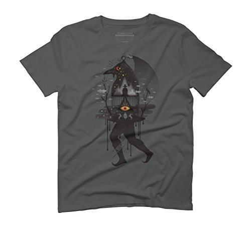Prisoners Men's Graphic T-Shirt - Design By Humans Anthracite