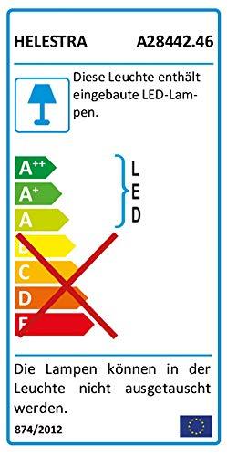 Helestra LED-Wandleuchte Aluminium silber 15 x 15 x 15 cm