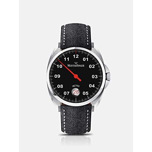 MeisterSinger Metris ME902 Reloj automático con sólo una aguja