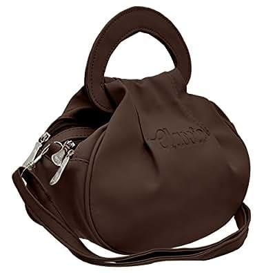 TAP FASHION Fancy Stylish Elegant Women's Cross Body Sling Bag (Brown, WSB-3036-22-AB).