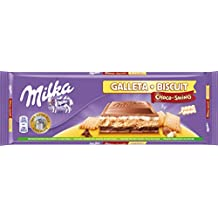 Milka Choco-Swing Tableta de Chocolate y Galleta con Leche - 300 g