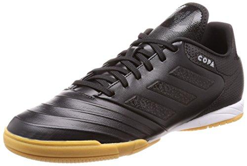 adidas Copa Tango 18.3 in in, Scarpe da Calcetto Indoor Uomo, Nero Ftwbla/Negbás 000, 45 1/3 EU