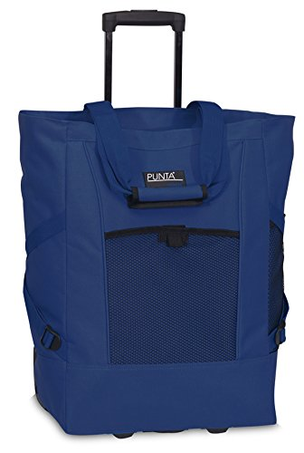 Einkaufsshopper - Shopper Bag Case Trolley blau