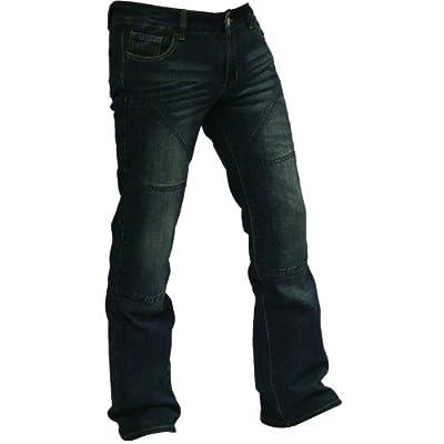 Hornee SA-W3 Ladies Bootcut Hipster Jeans Dark Blue