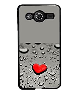 FUSON Designer Back Case Cover for Samsung Galaxy Core Prime :: Samsung Galaxy Core Prime G360 :: Samsung Galaxy Core Prime Value Edition G361 :: Samsung Galaxy Win 2 Duos Tv G360Bt :: Samsung Galaxy Core Prime Duos (Heart Love Spades Graphic Design)