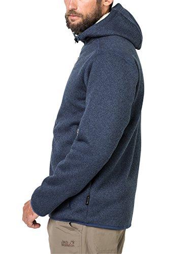 67a54799cb Jack Wolfskin Men's Robson Jacket Fleece Jacket, Men, Robson Jacket, Dark  Sky