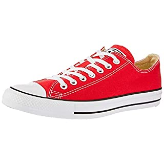 CONVERSE Chuck Taylor All Star Seasonal Ox, Unisex-Erwachsene Sneakers, Rot, 37 EU