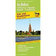 Schlei, Schleswig - Kappeln - Angeln - Schwansen: Rad- und Wanderkarte mit Ausflugszielen, Einkehr- & Freizeittipps, Straßennamen, wetterfest. 1:50000 (Rad- und Wanderkarte/RuWK)