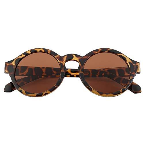 BZ032 Unisex Vintage Frauen Männer Brille Runde Rahmen Objektiv Sonnenbrille UV Schutz Einfache Elegante Design Sommer Zubehör