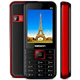Karbonn K9 Jumbo (Big Screen & Big Battery) 2 MP Camera + 2.4 Screen + Auto Call Recording + 1800 MAh Longlife Battery + FM + Mp3 + Mp4 + Gprs + Dual Sim + Dual Led Torch + 16 GB Expandable Memory + FIRST 108 DAYS REPLACEMENT BY SERVICE CENTER