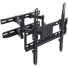 """TradeMount Soporte de Pared para Monitor de Dos Brazos Extensible de 8,0cm a 46,5cm orientable inclinable 12° para ViewSonic 32"""" XG3202-C"""