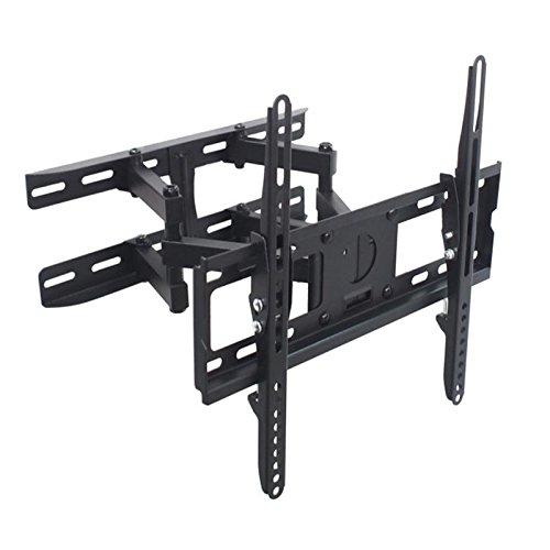 40-zoll-vizio (Monitor Wandhalterung Eco Doppelarm schwarz ausziehbar von 8,0cm bis 46,5cm schwenkbar für Vizio 40