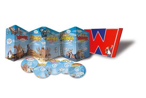 Werner - Box (Box Set, 5 DVDs)