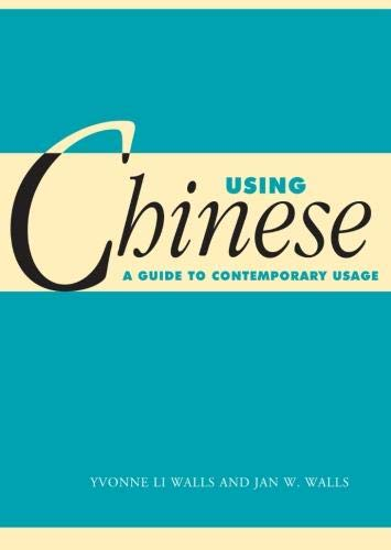 Using Chinese Paperback: A Guide to Contemporary Usage (Using... (Cambridge))