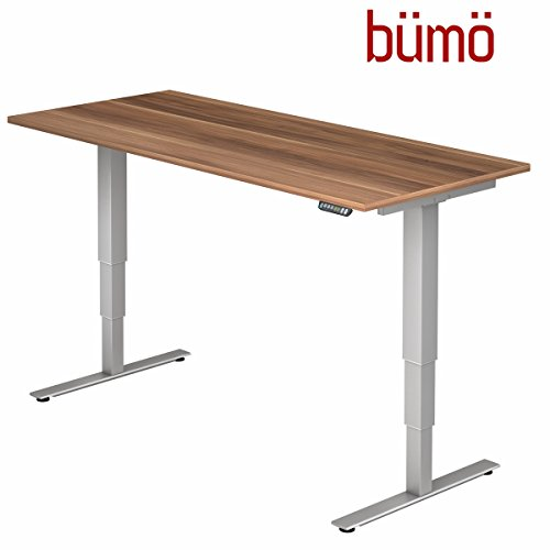 Bümö® mit Memoryfunktion, 120/160/180 x 80 cm , Dekor: wählbar