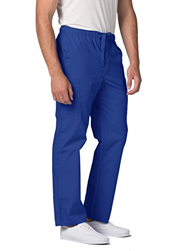 ADAR UNIFORMS Adar Universal Men's 6-Pocket Comfort Tapered Leg Scrub Pants -