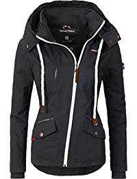 Navahoo Damen Outdoorjacke Übergangs Jacke Rehauge (vegan hergestellt) 9 Farben  XS-XXL aa341b24f6