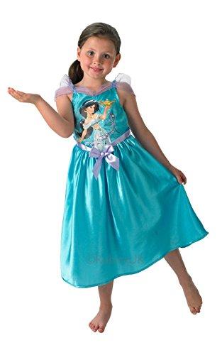 isney Princess Storytime Classic Jasmin Fancy Kleid, Blau (Princess Jasmin Aladdin Kostüme)